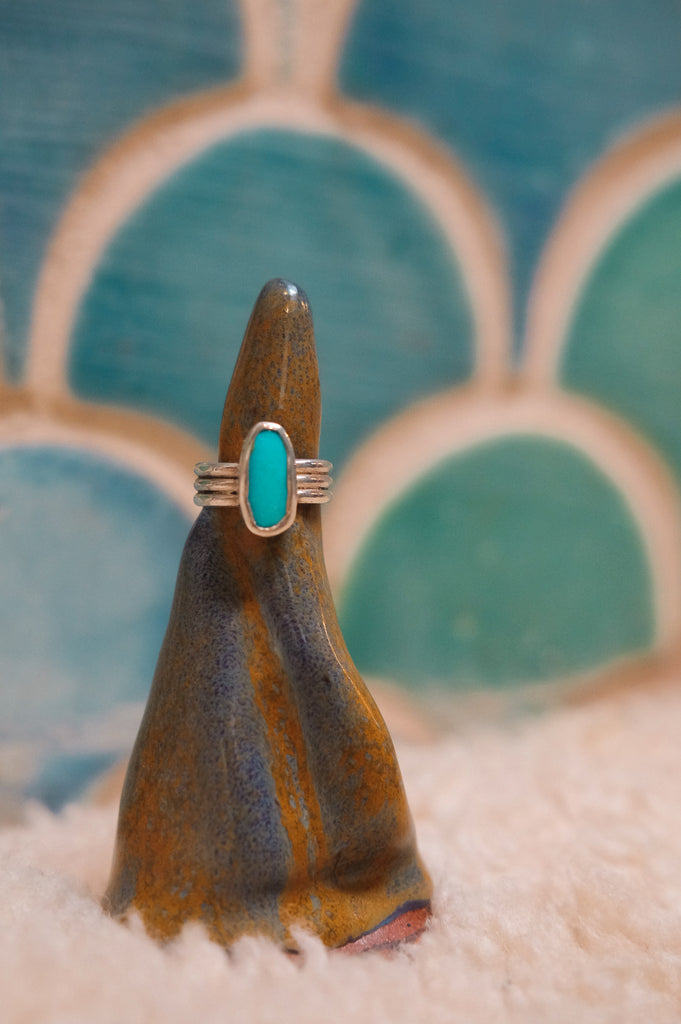 Sonoran Turquoise Ring (Size 7.5)