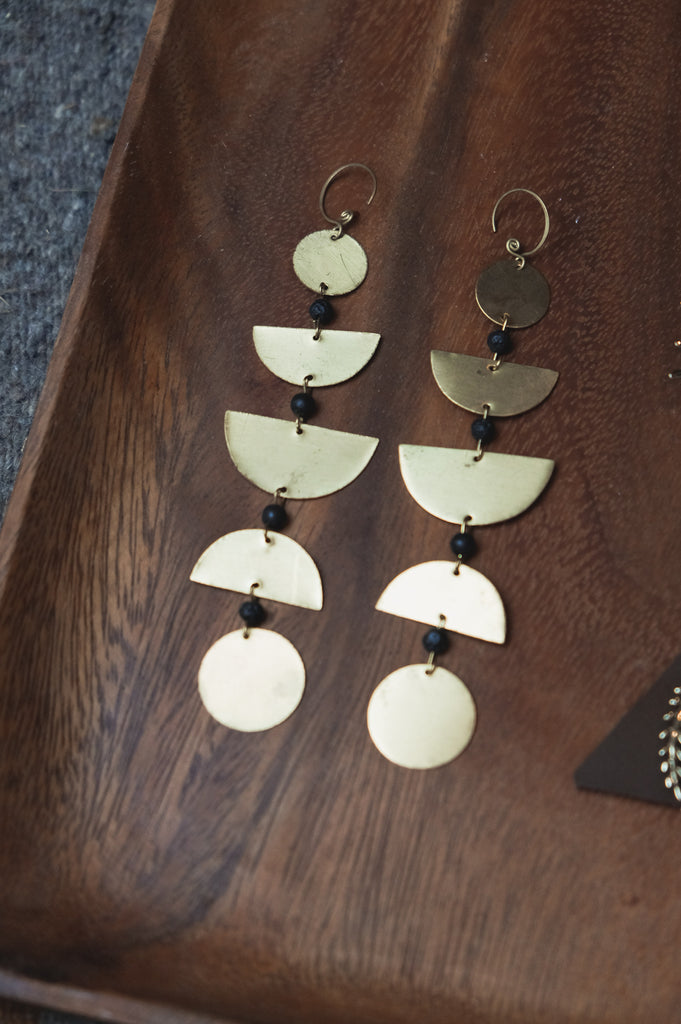 Moon Phase Earings