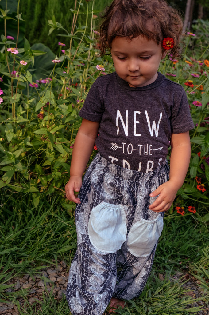 Baby Pocket Printed Harem Pants