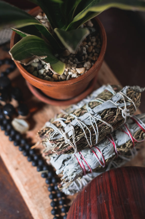 White Sage & Juniper Smudge Stick