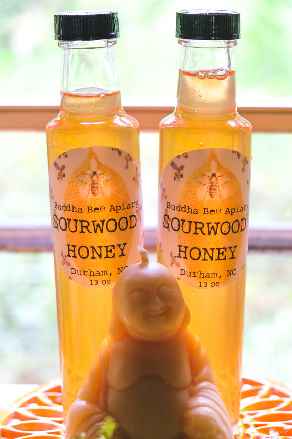8 oz RAW Sourwood Honey