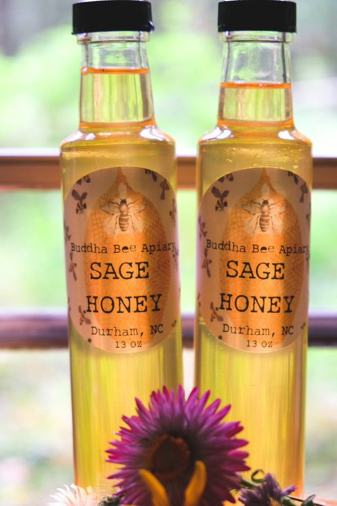 13 oz RAW Sage Honey