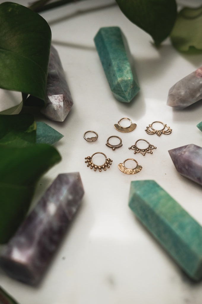 Septum Rings (Brass)