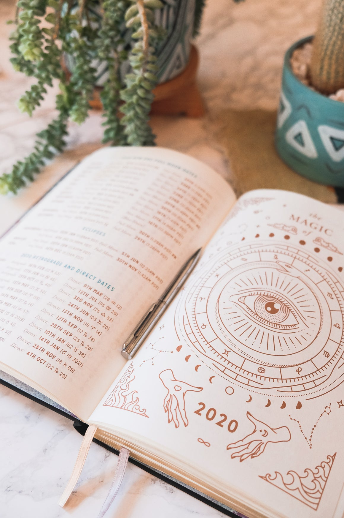 Magic of I ~ 2020 Astrological Planner