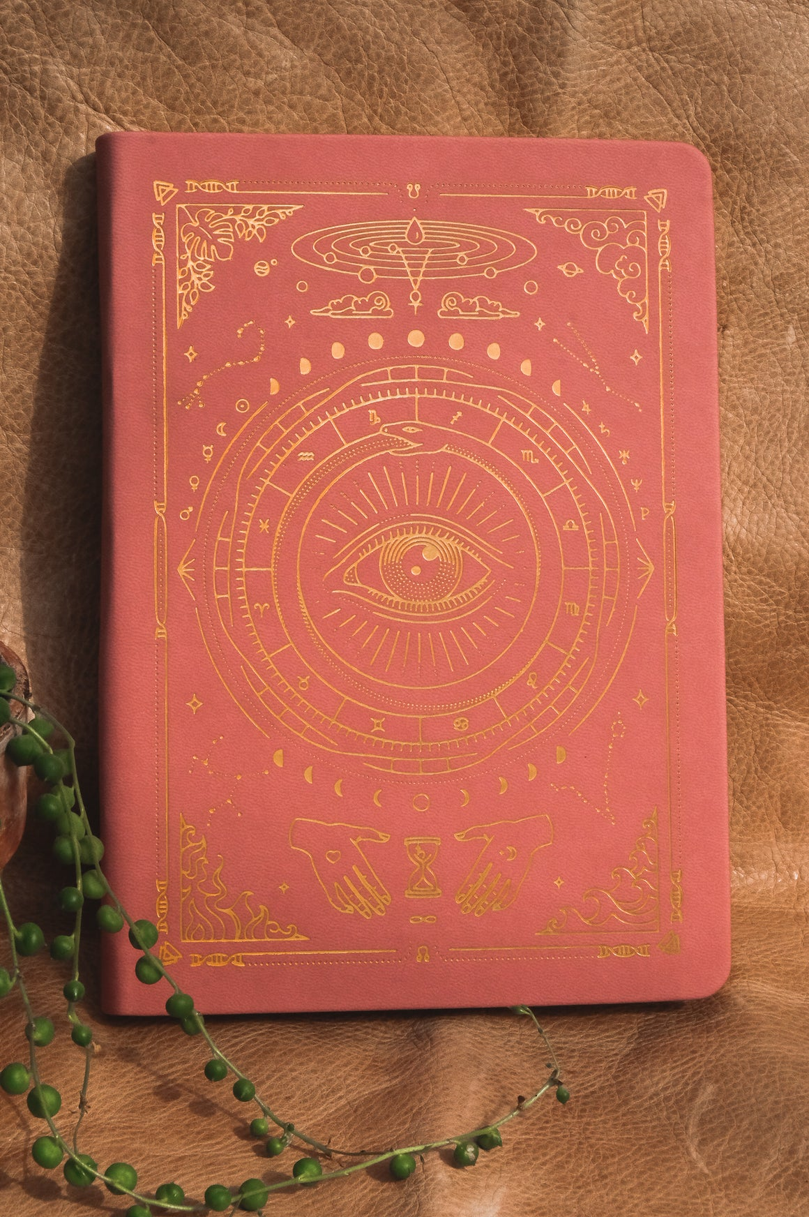 Magic of I ~ Vegan Leather Journal