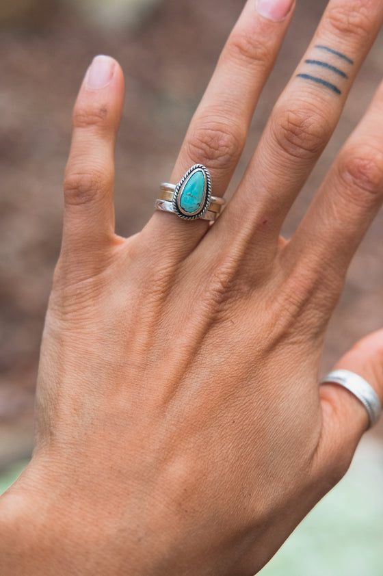 Royston Turquoise Ring (6.5)