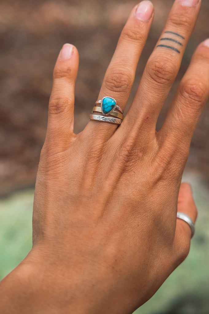 Egyptian Turquoise Ring (5.25)