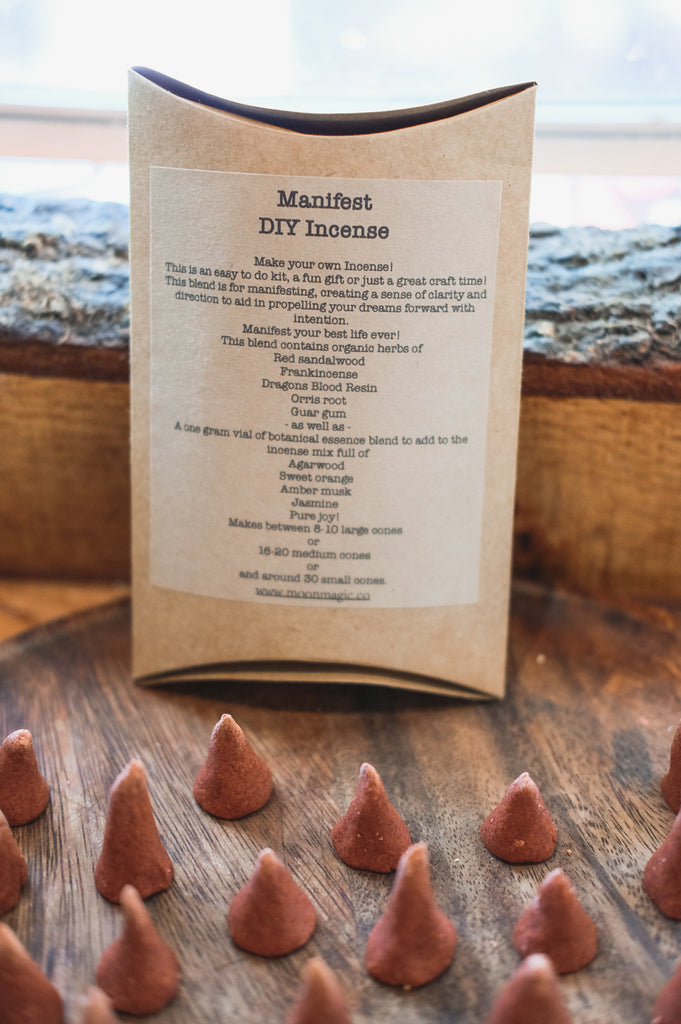 DIY Manifest Incense Kit