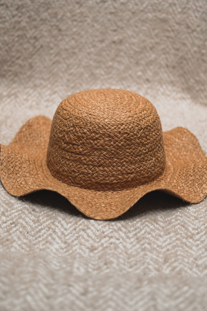 Tan Oyster Hat