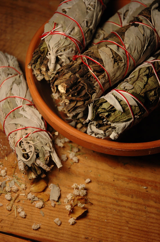 Yerba Sante & White Sage Smudge Stick - Moon.Flower.Child