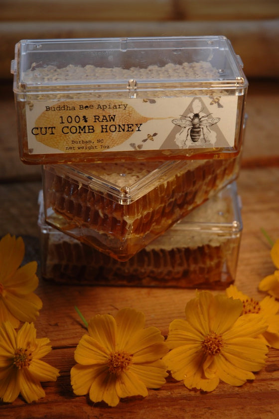 7oz RAW Cut Comb Honey - Moon.Flower.Child