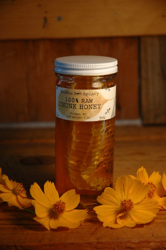 1lb RAW Chunk Honey