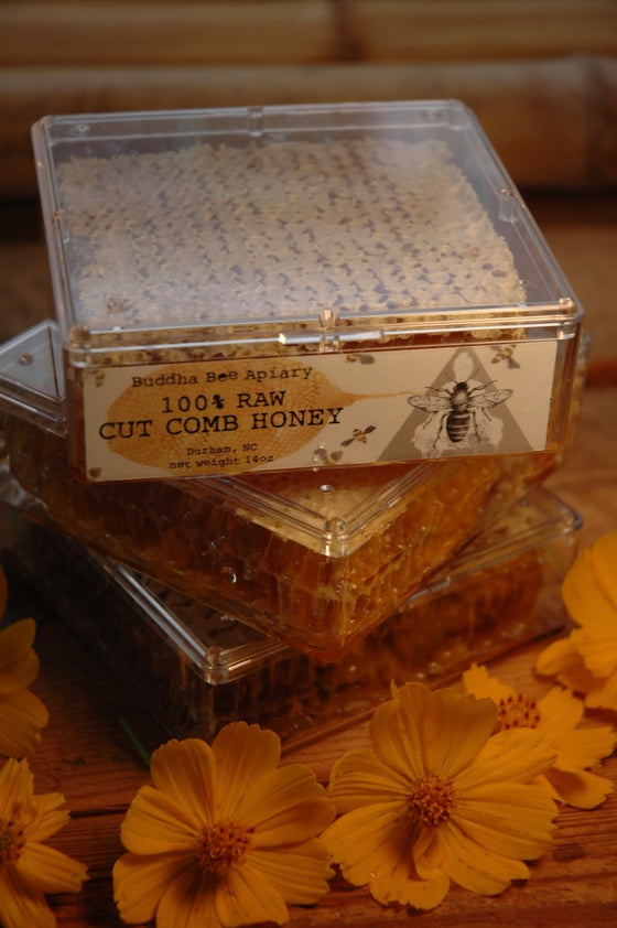14oz RAW Cut Comb Honey - Moon.Flower.Child