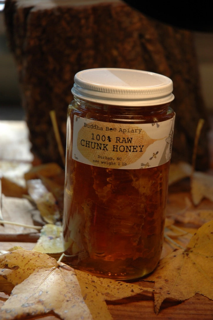 RAW Chunk Honey