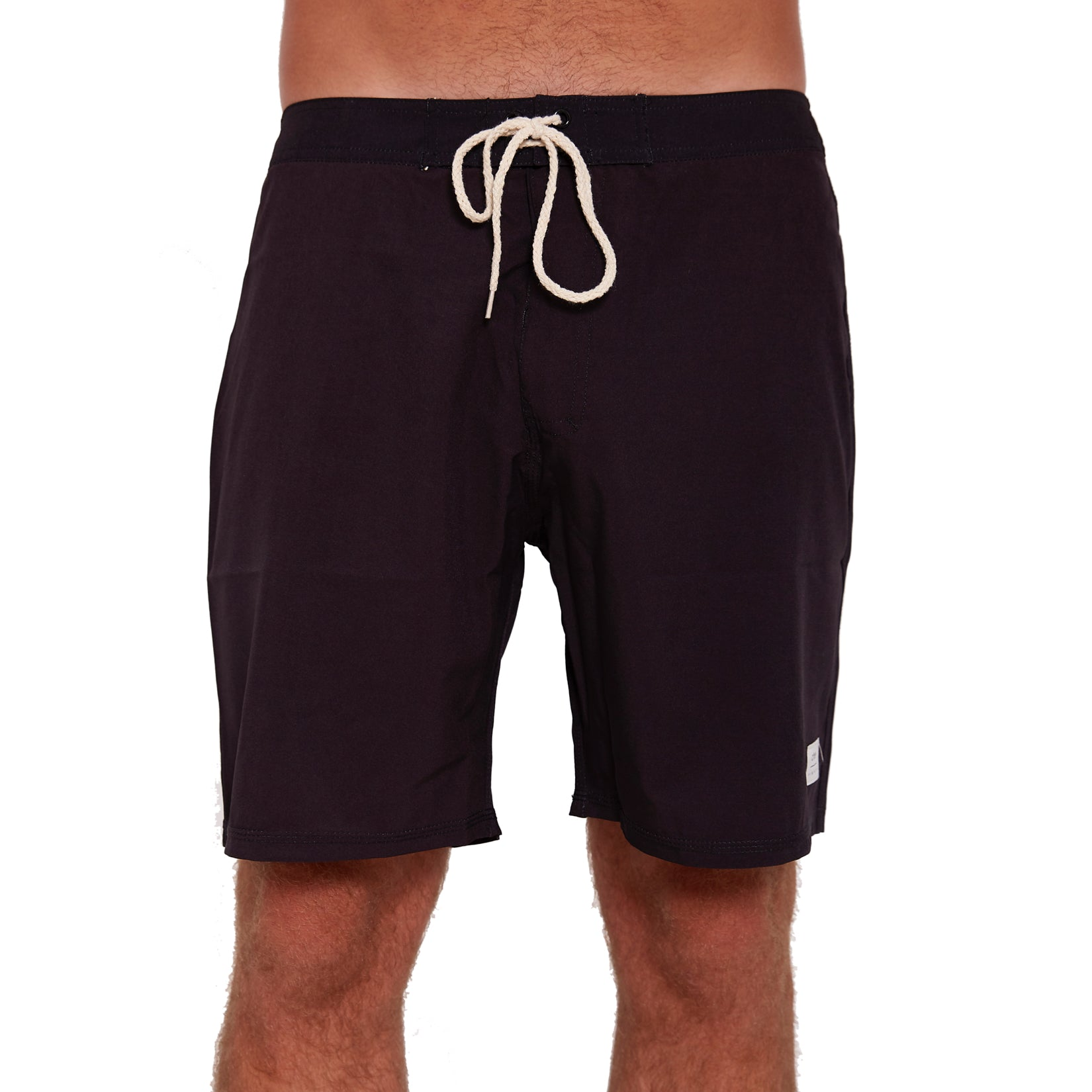Recycled Polyester Boardshort - Black