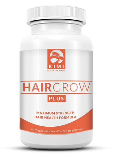 Hair Grow Plus - All Natural Hair Growth Vitamin Supplement with Biotin