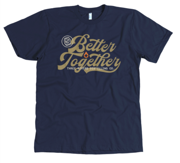 TRDC Better Together Tee (with sanitizer)