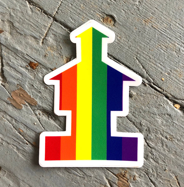 Diversity Fort Sticker