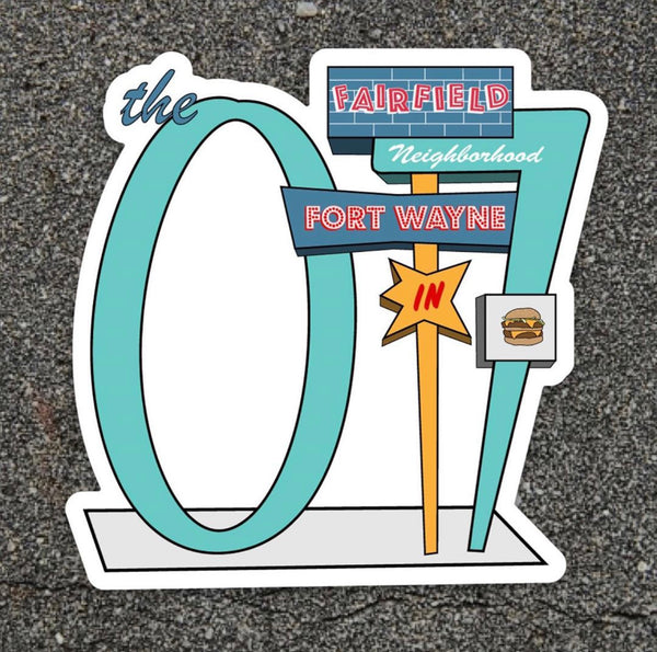 07 Drive-In Sticker