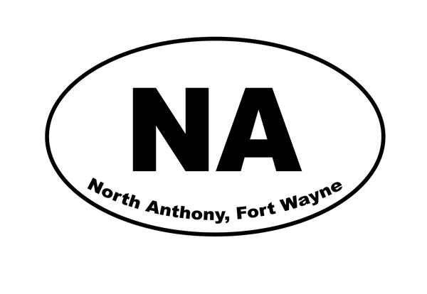 North Anthony Sticker