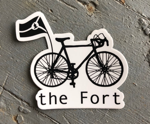 Bike the Fort Sticker