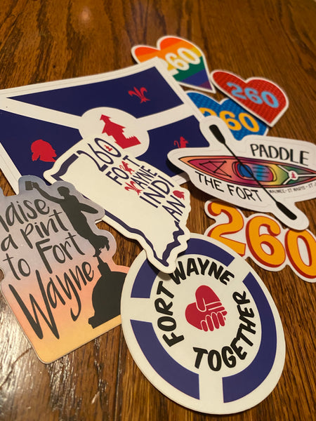 Fort Wayne Sticker Pack