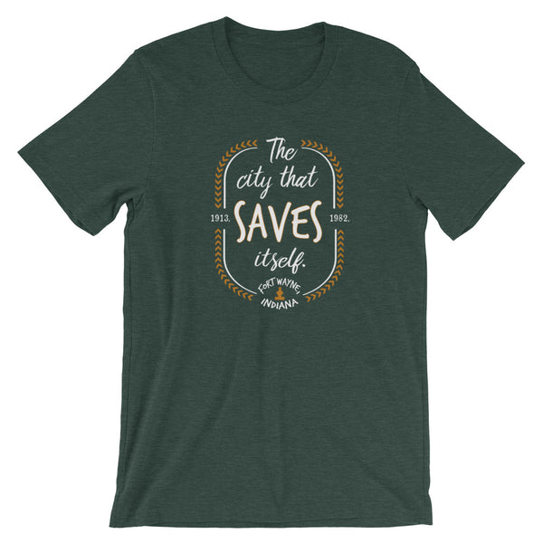 The City that Saves Itself Tee