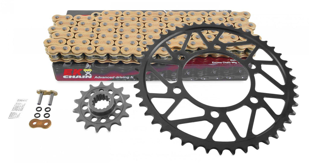 Superlite Quick Acceleration Steel Sprocket and Chain Kits for