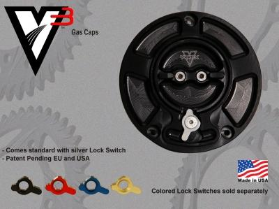 V3 Fuel Cap: Black