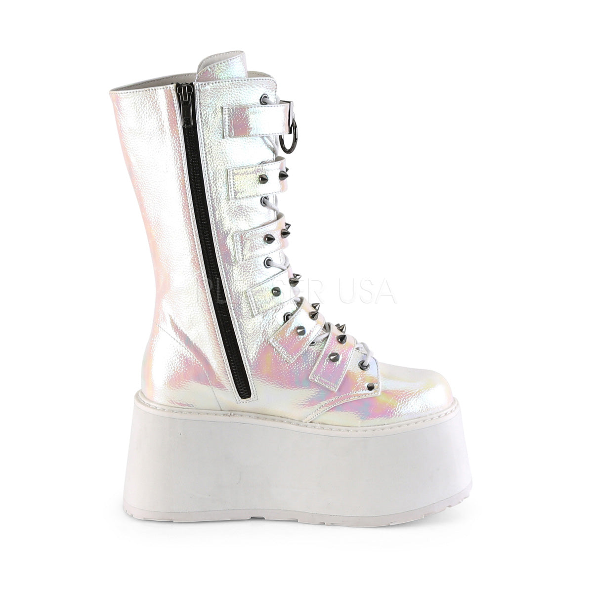 DAMNED-225 Pearl Iridescent Vegan Leather