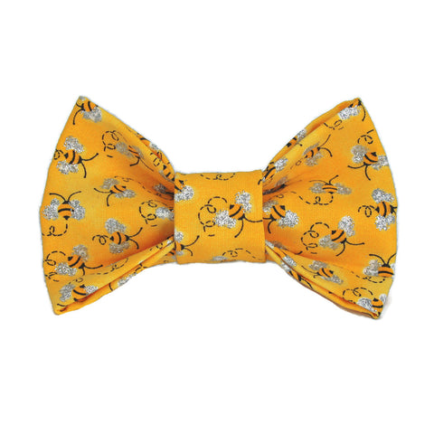 Honey Bee Dog Bow Tie for small to large Doggie's - Hunter K9 Gear