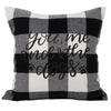 Buffalo Check Accent Pillow - Hunter K9 Gear