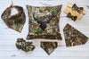 Real Tree Camo Classic Tie Dog Bandana - Hunter K9 Gear