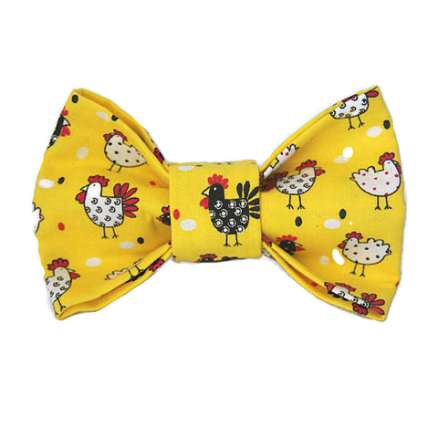 Chicken Coop Dog Bow Tie for small to large Doggie's - Hunter K9 Gear