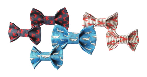 Crab Fest Dog Bow Tie for small to large Doggie's - Hunter K9 Gear