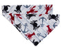 Crab & Lobster Feast! Dog Bandana - Over the Collar Style in 3 Sizes | Free Ship - Hunter K9 Gear