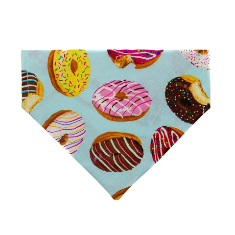 Diggin' Donuts Dog Bandana - Over the Collar Style in 5 Sizes | Free Ship - Hunter K9 Gear