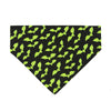 Green Bats Dog Bandana - Hunter K9 Gear