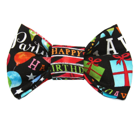 Party Boy Dog Bow Tie for small to large Doggie's - Hunter K9 Gear
