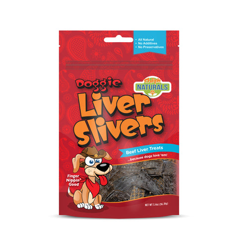 Liver Slivers Dehydrated Beef Liver Dog Treat - Hunter K9 Gear