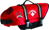 Paws Aboard Red Neoprene Dog Life Vest  (Fido Pet) - Hunter K9 Gear