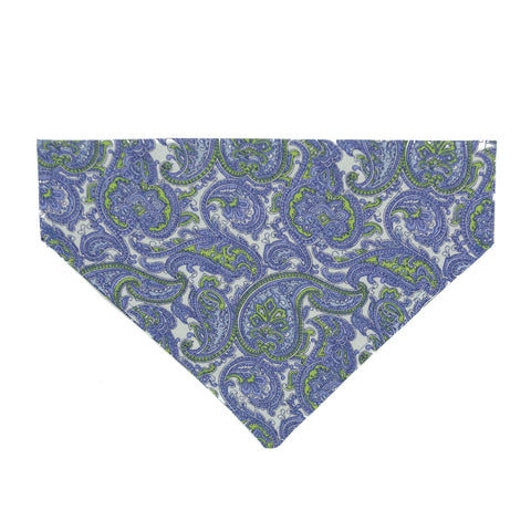 Paisley 'licious  Dog Bandana - Over the Collar Style in 5 Sizes | Free Ship - Hunter K9 Gear
