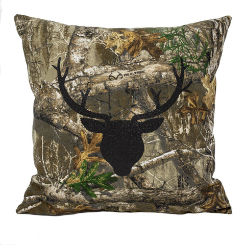 Real Tree Camo Pillow