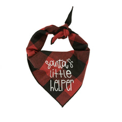 Santa's Little Helper Bandana