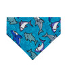 Shark Tank Dog Bandana - Over the Collar Style in 5 Sizes | Free Ship - Hunter K9 Gear
