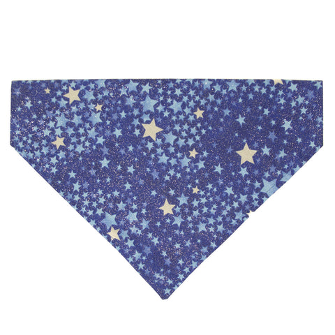 Sparkle Stars - Dog Bandana - Over the Collar Style in 5 Sizes | Free Ship - Hunter K9 Gear