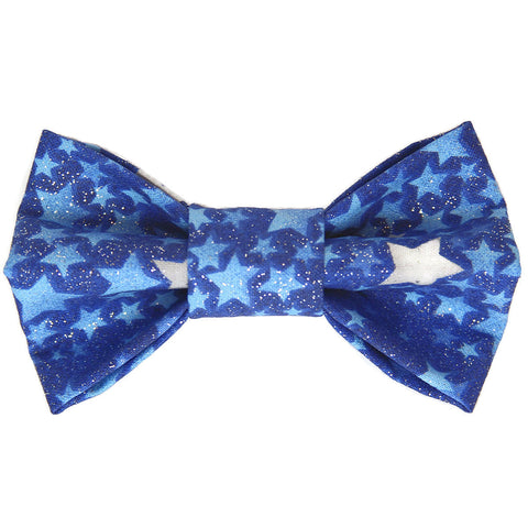 Sparkle Star Dog Bow Tie for small to large Doggie's - Hunter K9 Gear