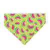 Summer Watermelon  Dog Bandana - Over the Collar Style in 5 Sizes | Free Ship - Hunter K9 Gear