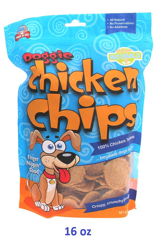 Dog Chicken Chips 16 oz bag - Hunter K9 Gear