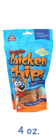 Dog Chicken Chips 4 oz Bag - Hunter K9 Gear